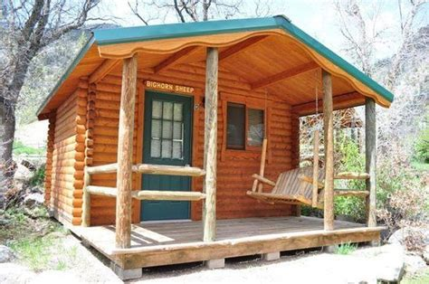 Glenwood Springs Cabins by Inside Of The Deluxe Resort Cabins W The Loft Picture