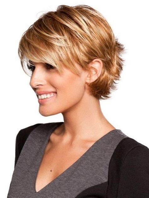 quick work hairstyles for thin hair 15 best of short hairstyles with bangs for fine hair