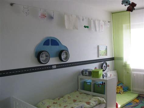 gardinen aufhangen mit seil kinderzimmer autozimmer home sweet home zimmerschau