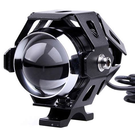 Motorcycle Transformer Led Projector Headlight Cree U5 3000 Lumens 3000lm cree u5 motorcycle led headlight waterproof spotlight light l ebay