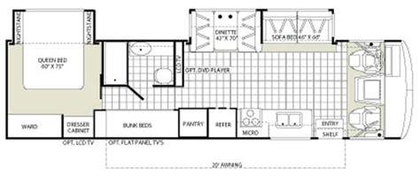fleetwood travel trailer floor plans thefloors co 2007 fleetwood bounder floor plans thefloors co