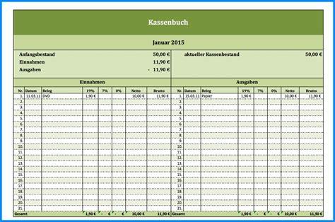 Rechnung Kleinunternehmer Wko kassenbuch vorlage zum ausdrucken business template