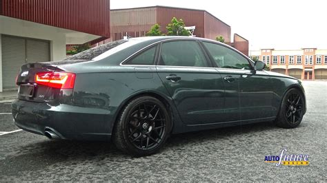 Audi Performance Wheels by Hre Performance Feature Audi A6 Equipped With Hre