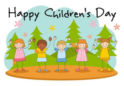 s day clipart free happy children s day vector free vector