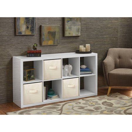better homes storage cube better homes and gardens 8 cube organizer colors walmart