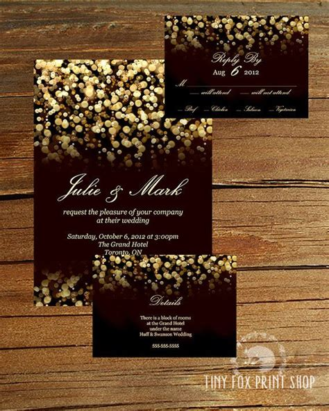 Wedding Cards Design In Lucknow by Black And Gold Wedding Invitations Weddi On Invitation