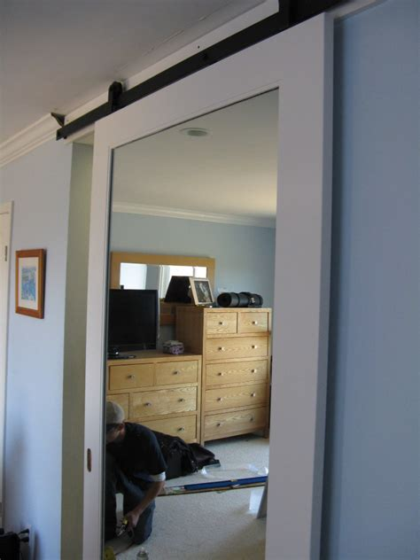 Where To Buy Sliding Mirror Closet Doors Sliding Barn Door Mirror Barn Door In Belmont Stuff To Buy Pinterest Sliding Barn Doors
