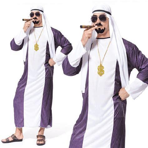 Arabian Costume dubai gangster arabian sultan arab sheik mens