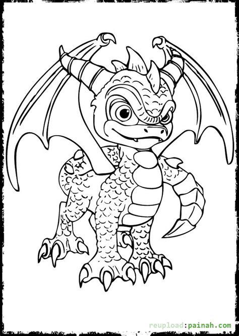 coloring pages of stealth elf skylanders coloring pages spyro coloring pages