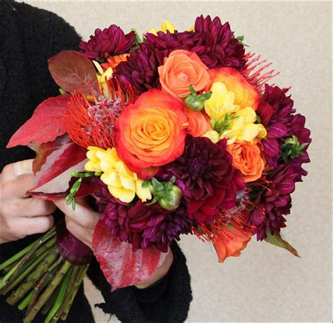 Fall Wedding Bouquets by Fall Wedding Bouquets 15 Brilliantly Ideas You Ll