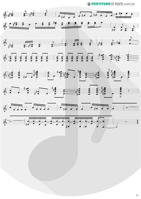 Partitura de musica - Guitarra Elétrica | Dream On