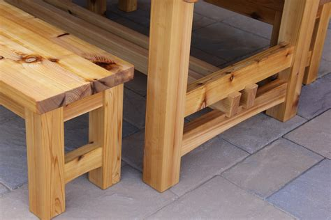 inspiring rustic wood patio table patio design 394