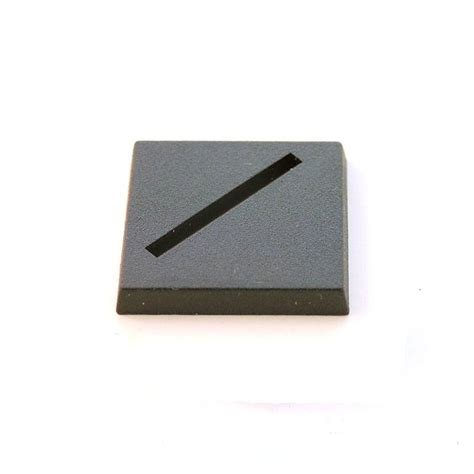 Dadu Dice Plastik 1 X 1 Mm 1 x plastic square slotted base 25x25mm