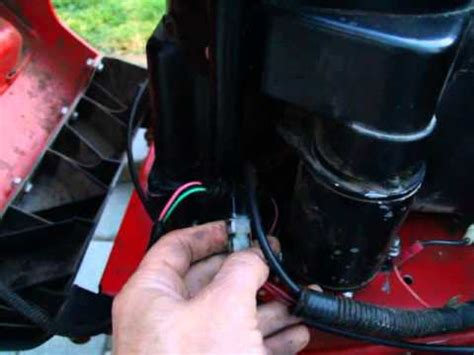snapper rider wiring explained sorta youtube