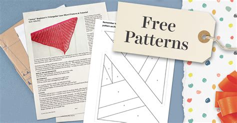 free black and white crafts patterns on craftsy super sized free pattern friday our 5 most popular