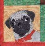 corner pug small dogs pattern