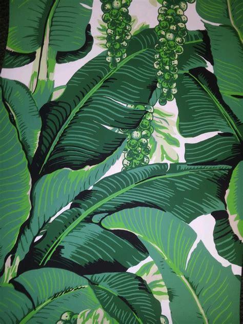 banana palm wallpaper brazilliance by dorothy draper wallpaper stencils