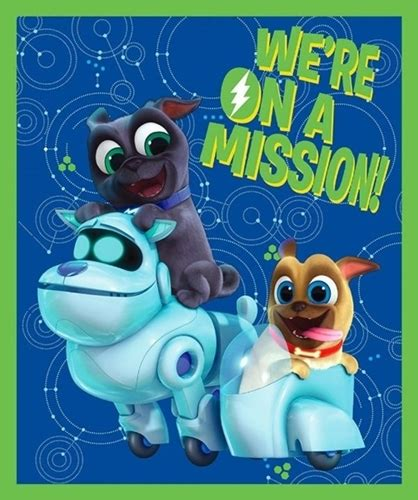 puppy pals puppy pals mission a lift the flap book books cotton fabric panel fabric disney puppy pals we re