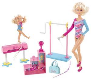 Barbie i can be gymnastics teacher doll playset free shipping