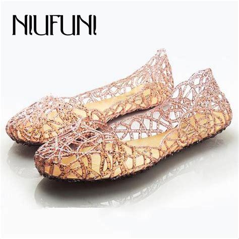 Bara Bara Jelly Shoes Flat Casual 1 s sandals 2016 new summer shoes casual jelly tenis feminino mesh flats sandalias