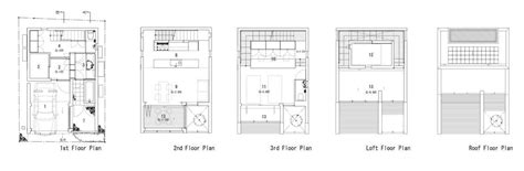 Small House Floor Plans With Loft by Gallery Of Is Yo Yamagata Architects 23