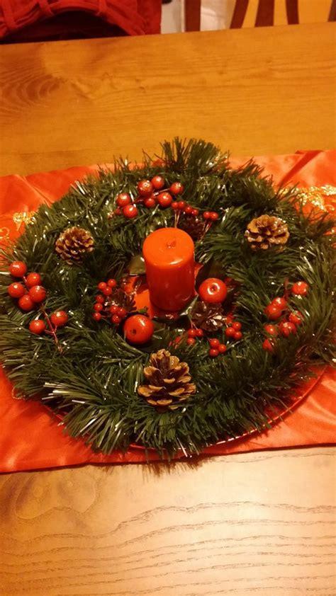 centrotavola natalizi handmade feste natale  la