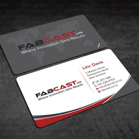 Freelance Business Cards freelance fabcast business card by design c business