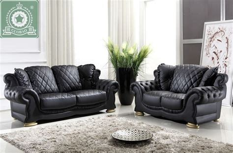 modern leather living room furniture buy high quality living room furniture european modern leather sofa from china