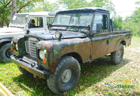 old land rover truck land rover car show a classic blast from the past my
