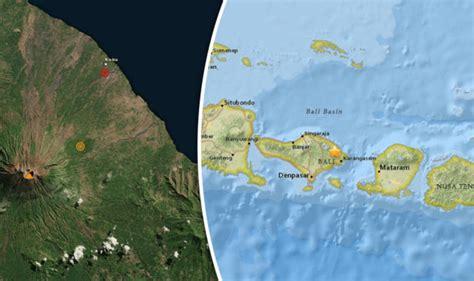 earthquake bali november 2017 bali volcano update earthquakes strike near mount agung