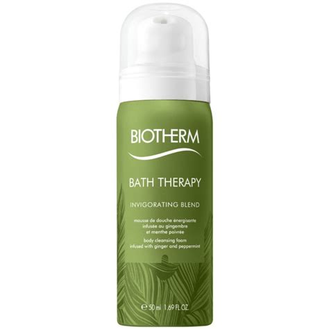 Cleansing Foam 50 Ml biotherm bath therapy invigorating blend cleansing