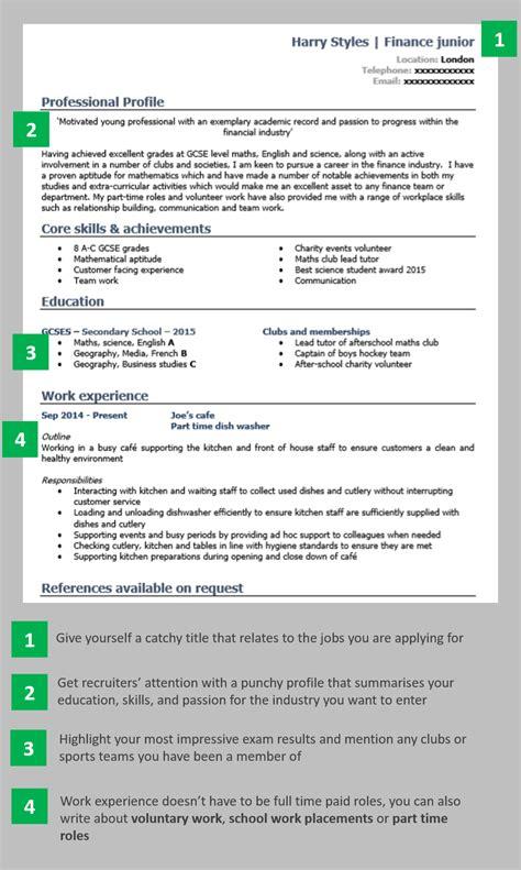 magnificent school leaver accountancy resume vignette resume ideas