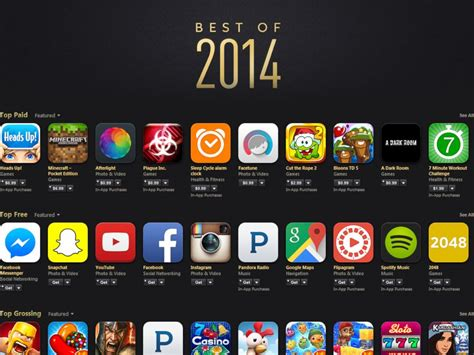 best of 2014 apple s best of 2014 free and paid apps abc news