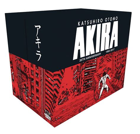 libro akira 35th anniversary box buy tpb manga akira 35th anniversary manga box set archonia com