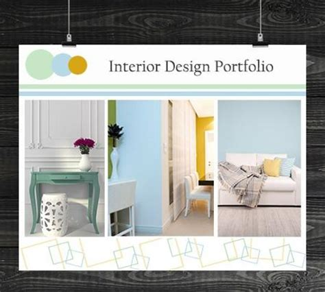 Interior Design Professional Portfolio by 11 Fabulous Ideas To Make A Professional Portfolio Cover Page