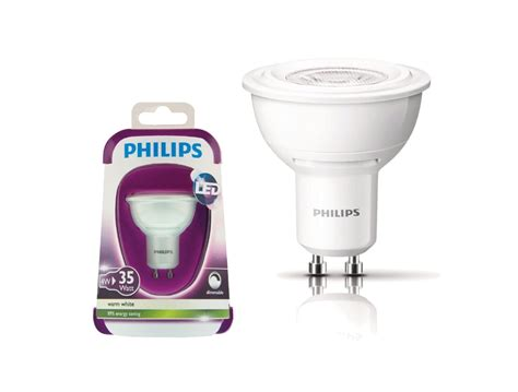 Lu Led Philips 3 philips gu10 4w
