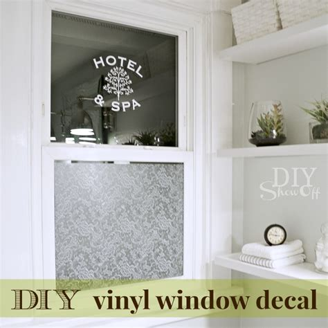 diy window vinyl decal diy show  diy decorating  home improvement blogdiy show