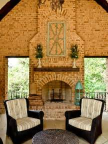 Brick fireplace mantel home design ideas pictures remodel and decor