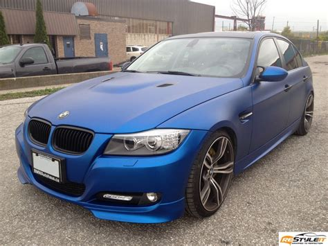 matte bmw matte metallic blue bmw 3 series vehicle customization