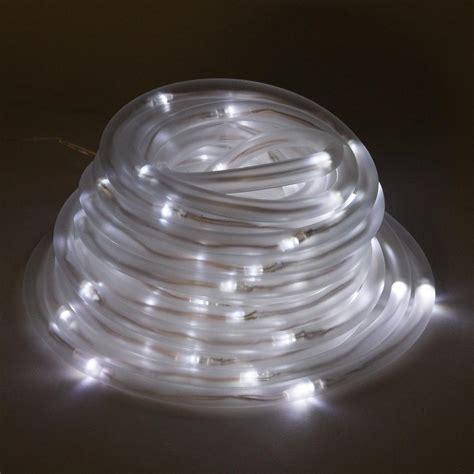 solar powered christmas lights white greenlighting 100 light 32 ft solar powered integrated