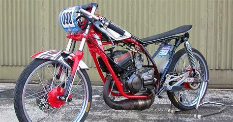 Modifikasi Mio Sporty 2007 by Modifikasi Motor Mio Sporty Drag Thecitycyclist