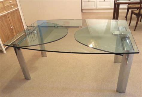 reflex tavoli in cristallo tavolo reflex policleto ellittico a pisa codice 7293