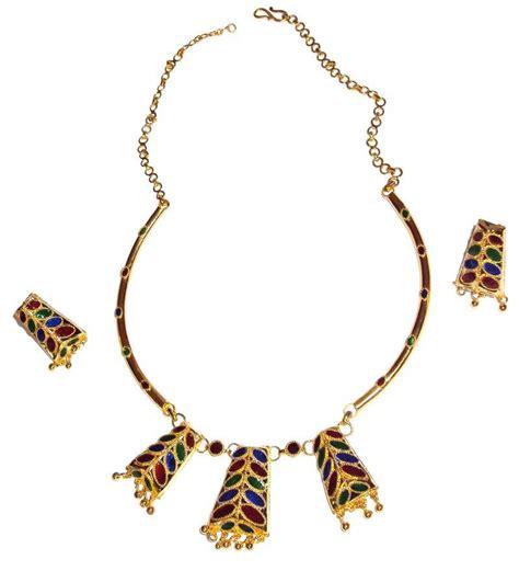 Handmade Indian Jewelry - buy handmade indian assamese jewellery dhansira