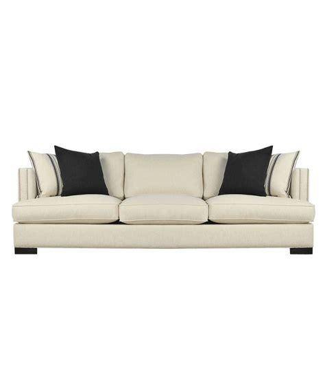 sofa welt afydecor white contemporary sofa with welt seam nail
