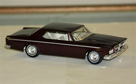 chrysler car models 1964 chrysler 300 2 door hardtop promo model car model
