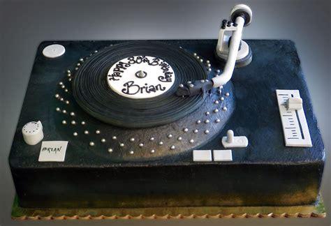 Birthday Records Vinyl Record Birthday Cake Sweet Somethings Desserts