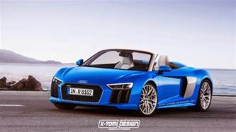 upcoming second audi r8 spyder imagined gtspirit