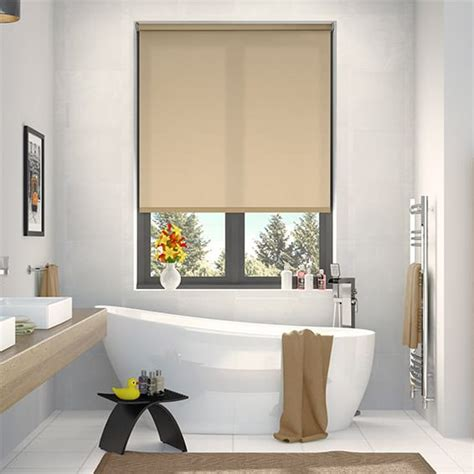 Shades Or Purple valencia simplicity straw roller blind