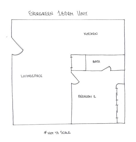 basic floor plans basic floor plan amc tiao property management manhattan ks