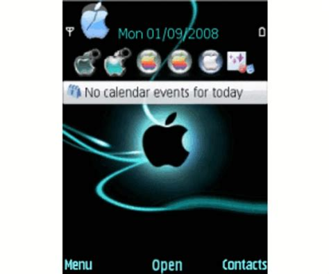 themes apps for blackberry symbian apple theme for symbian download